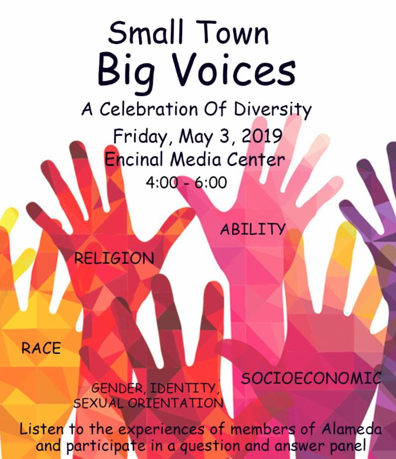 Small Town Big Voices Flyer