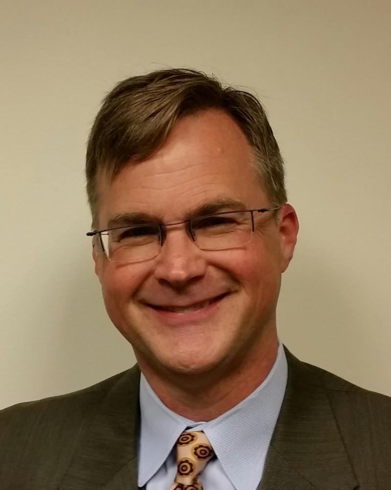 Photo of Superintendent Sean McPhetridge