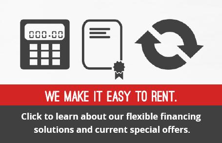We make it easy to rent a forklift. Forklift rentals made easy.