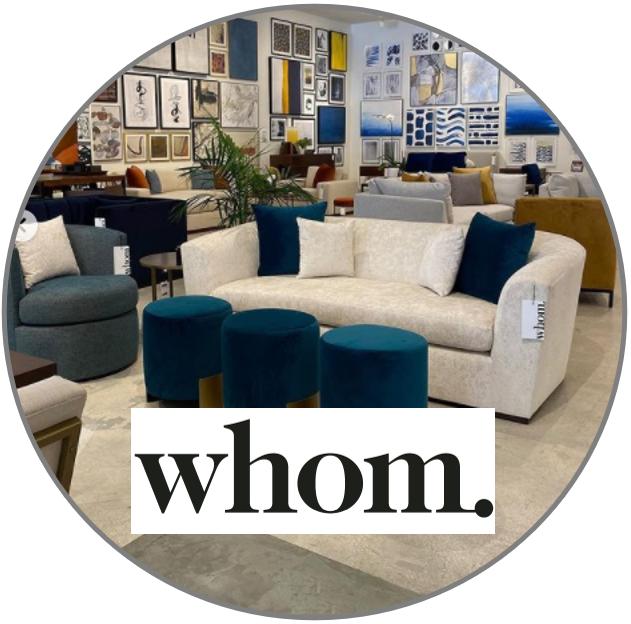 whom. home furnishings