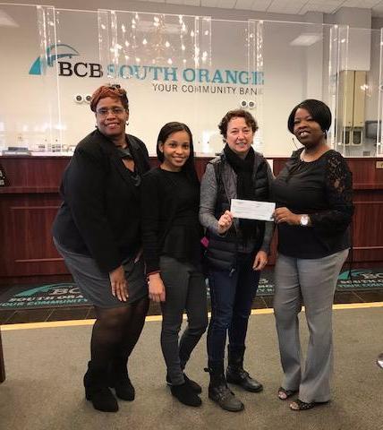 Donation from BCB Community Bank