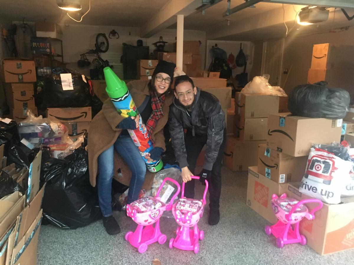 SMGF delivers toys