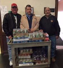 Orange Elks food donation