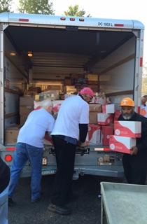 unloading the truck 3.9