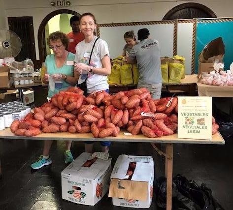 North Carolina sweet potatoes from SFPP