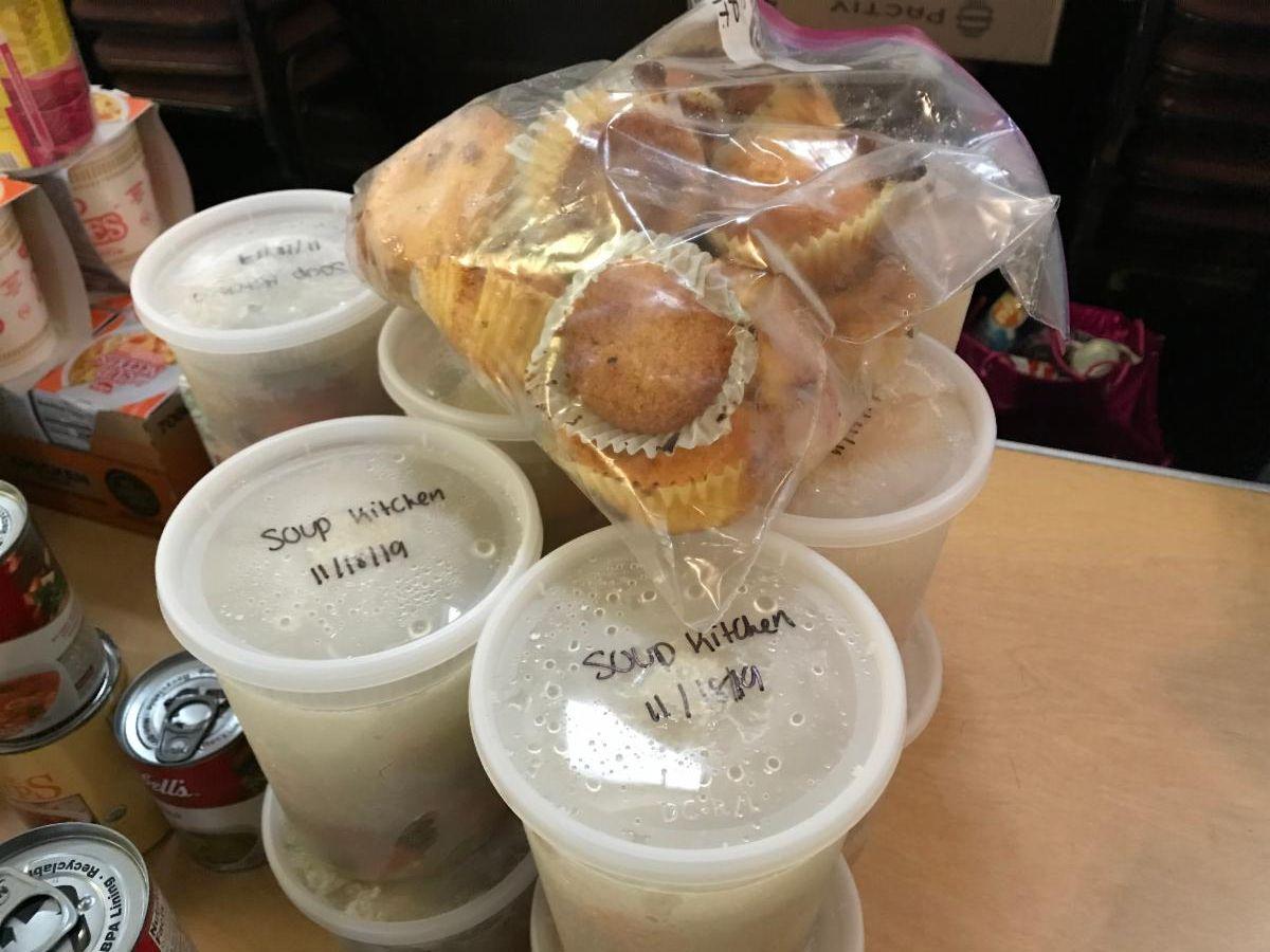 TSTI soup and muffins 2019