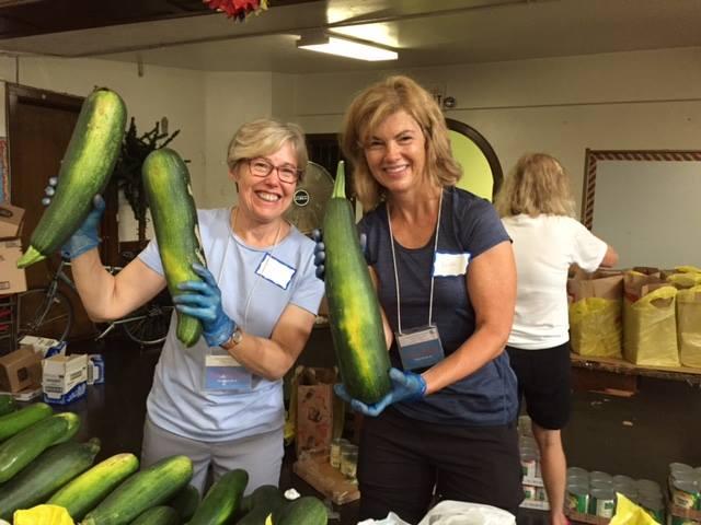 Walton school zucchini