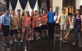 St Rose Youth and Christ Church Boy Scouts