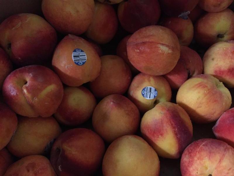Yum - peaches!