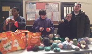 ECLC yarn donation