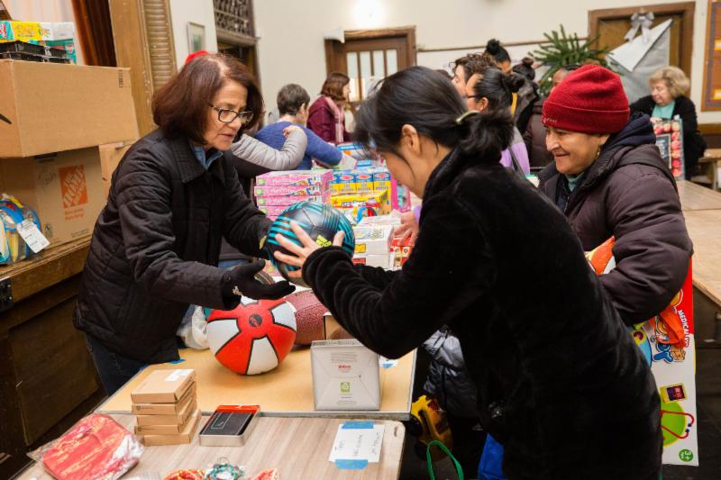 toy distribution