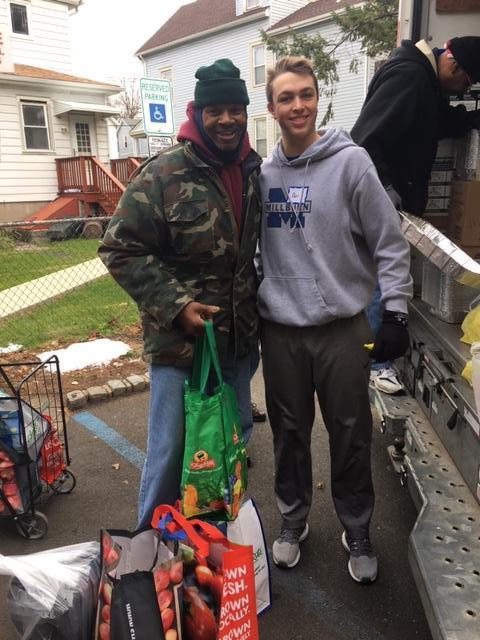 Earl at turkey truck