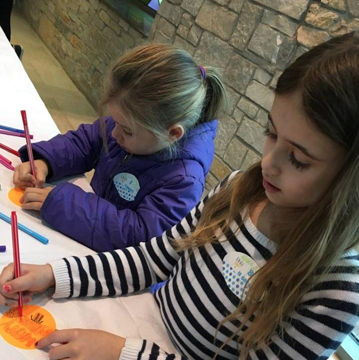 Writing messages of love and hope for IFPO clients
