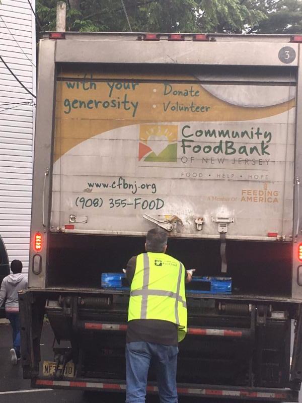 CFB delivers Farmer's Market produce