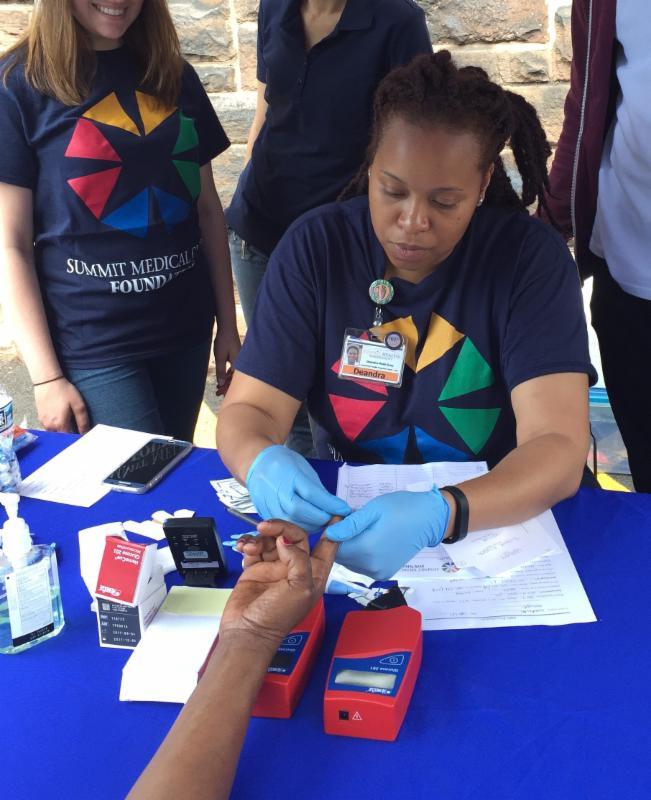 SMG diabetes screening