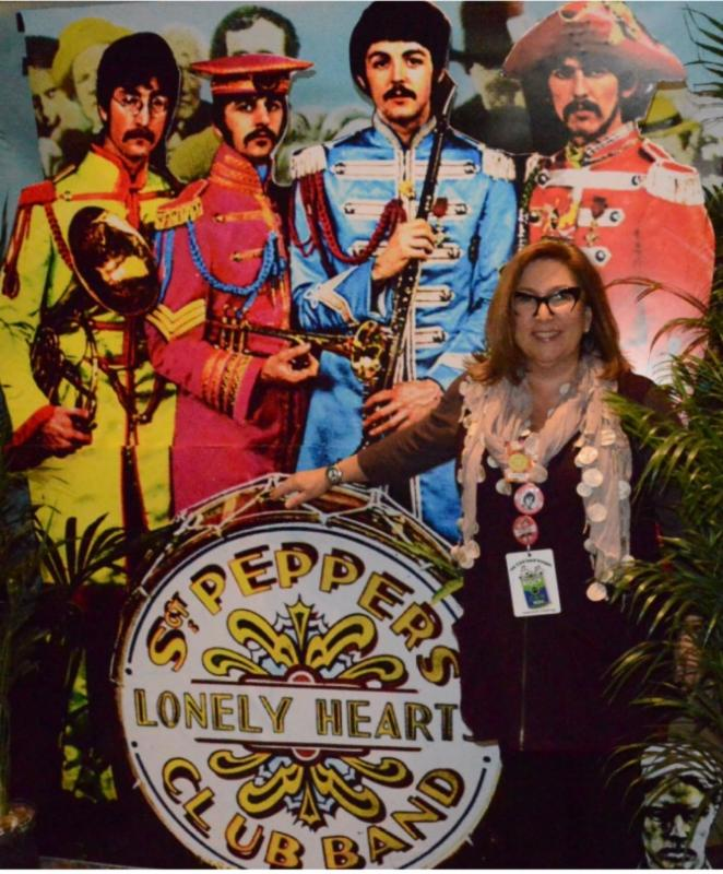 Aimee Holtzman at Fest for Beatles Fans