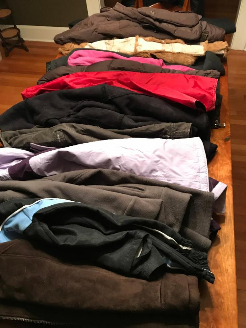 coats donated by McCusker Anselmi Rosen & Carvell