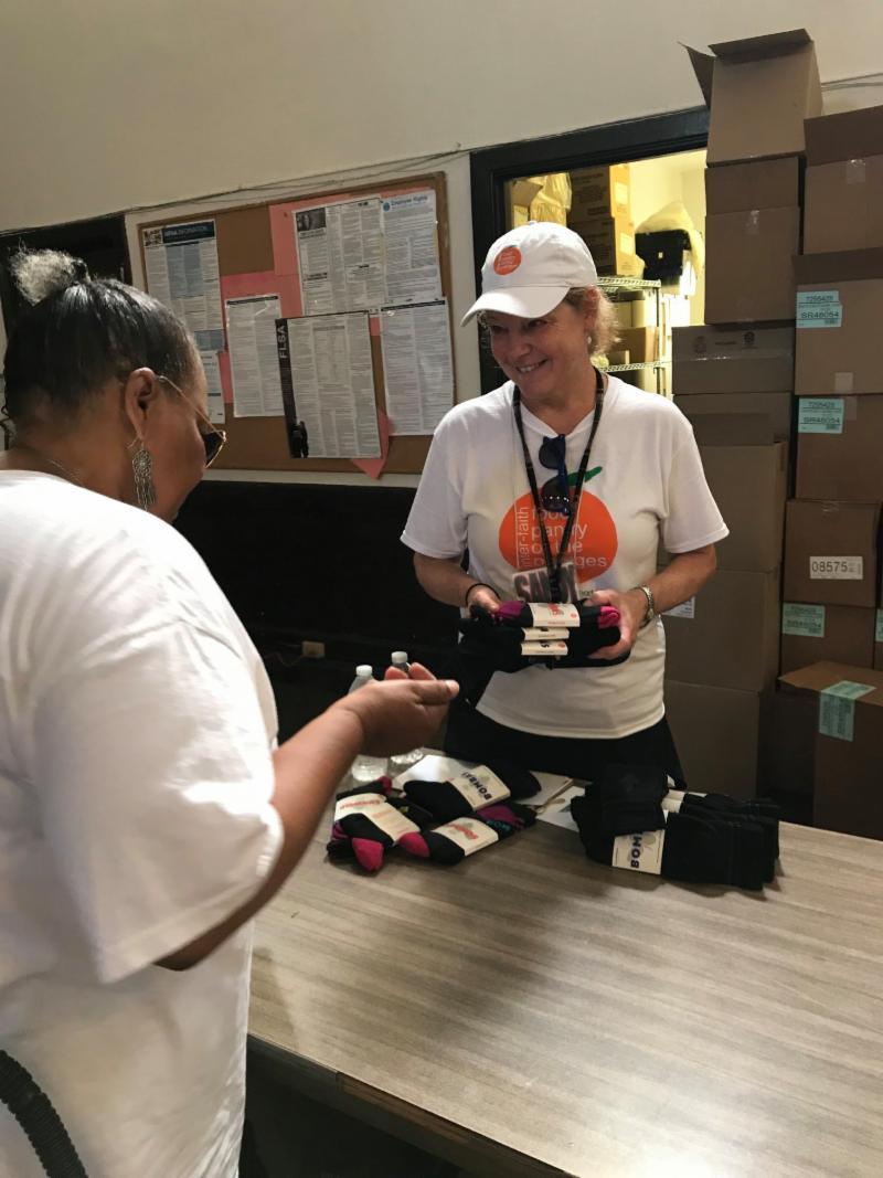 Bombas sock distribution