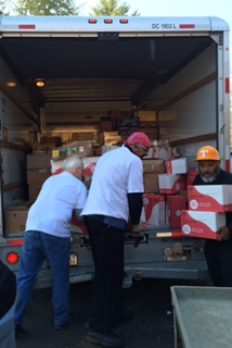 unloading the truck 3.9