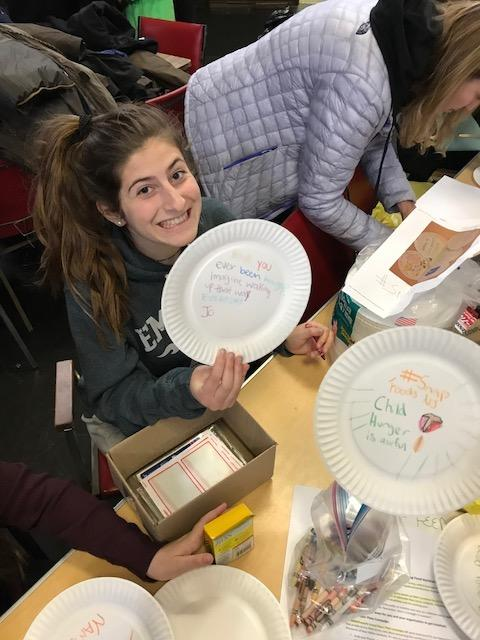 paaper plates for hunger funding