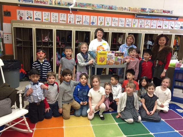 Cereal from 100 days celebration at Glenwood kindergartens