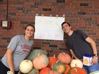 Teen Board collects for MEND