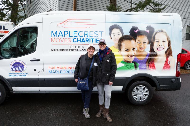 Jodi Coopermand . and Jen Miller of Maplecrest Moves