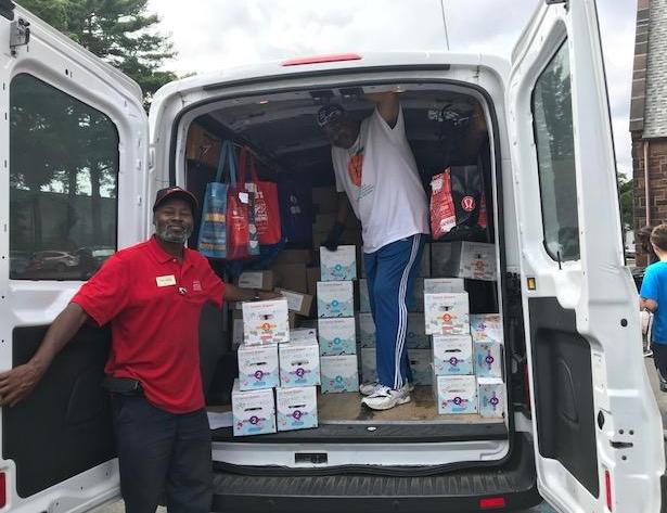 Maplecrest Moves Charities delivers