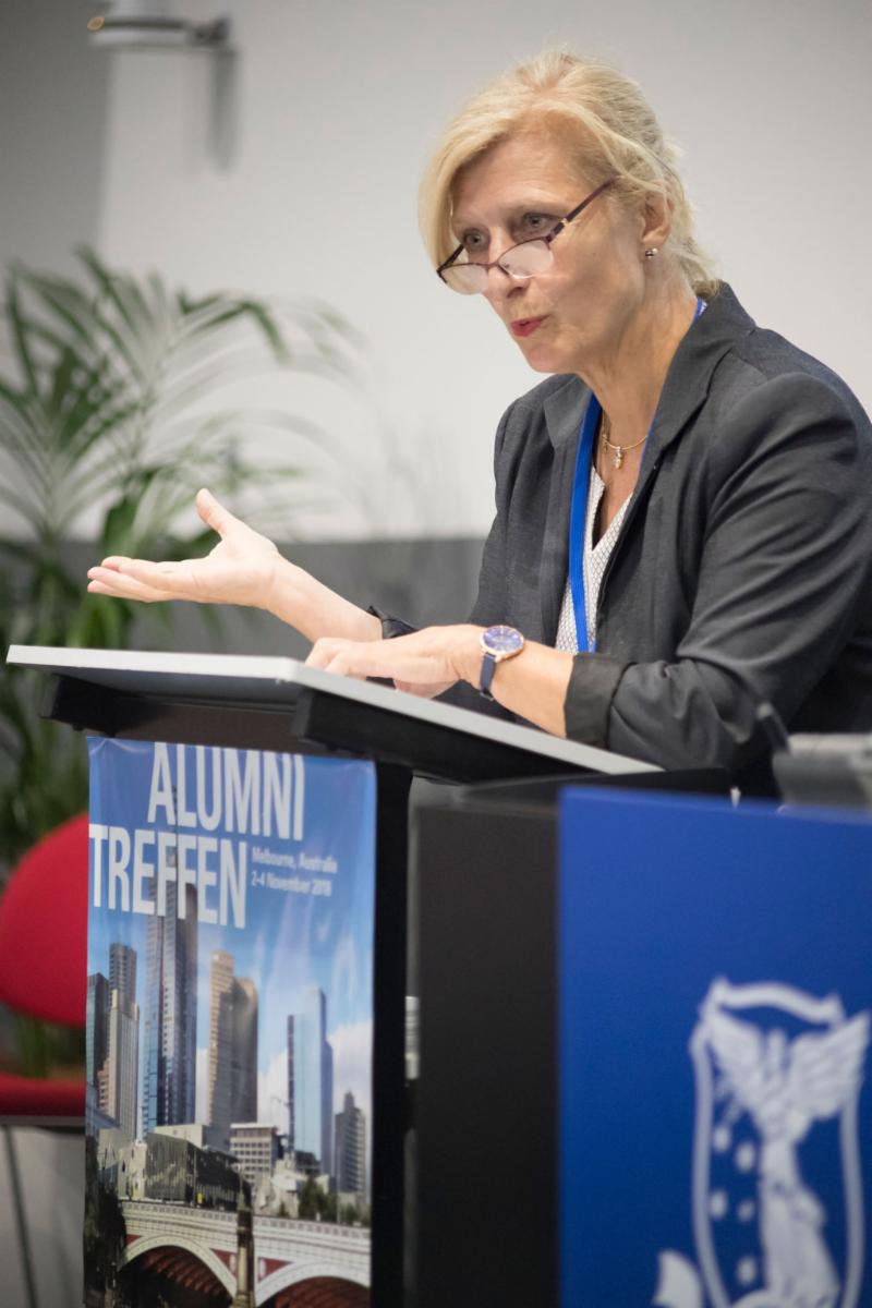 H.E Dr Anna Prinz (German Ambassador)