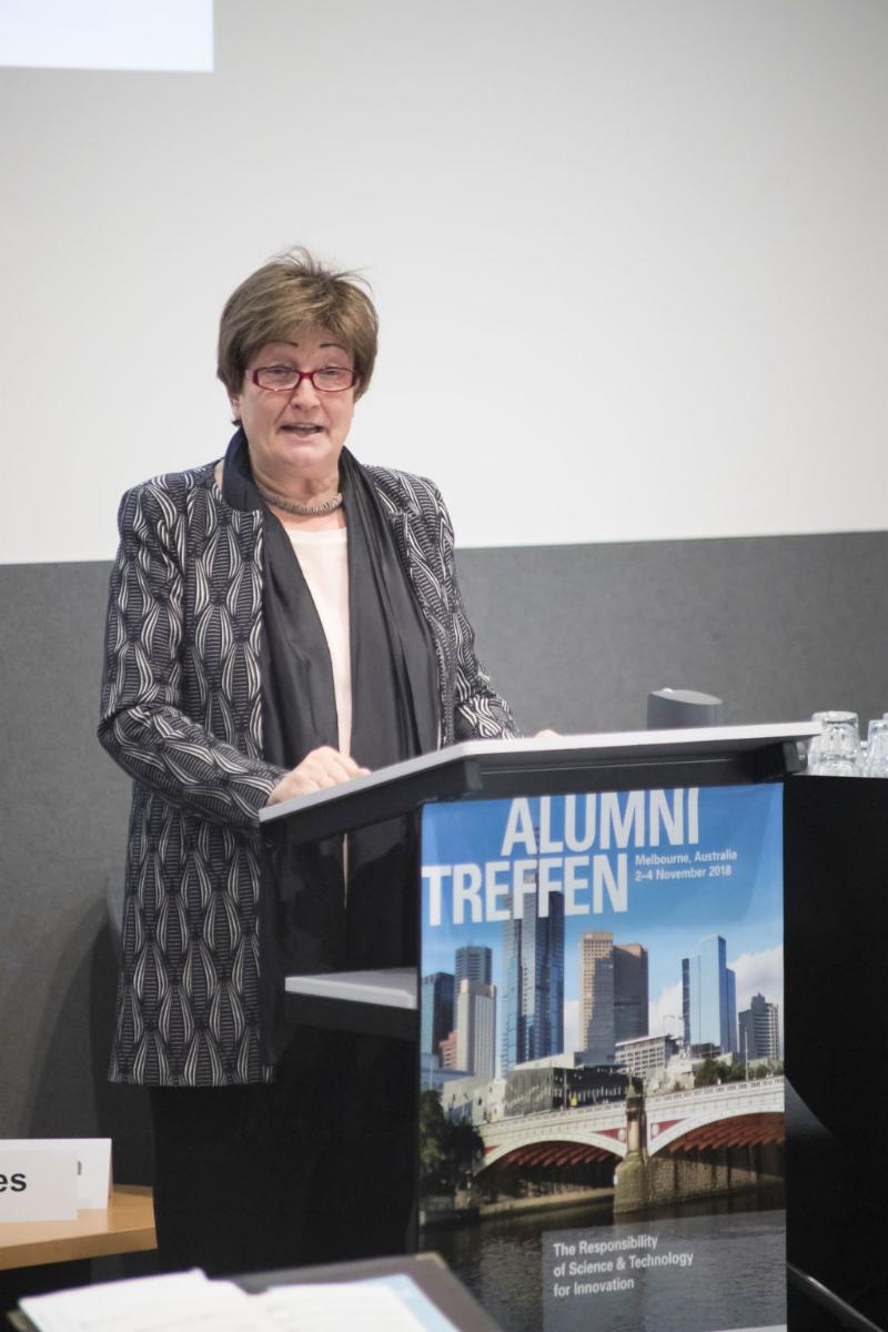 DAAD Secretary General Dr Dorothea Rüland
