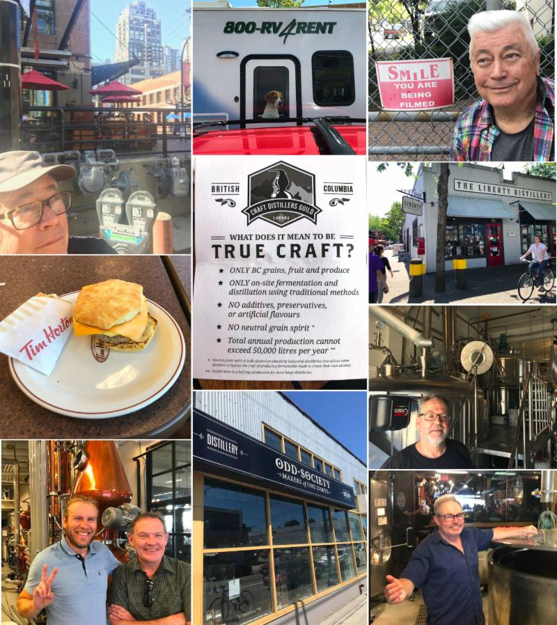 Collage of images from Bill_s road trip to Canada_ July 2018.