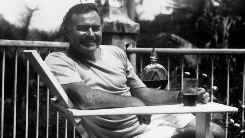 Hemingway with rum