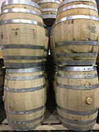 used barrels at Hamilton Distillers