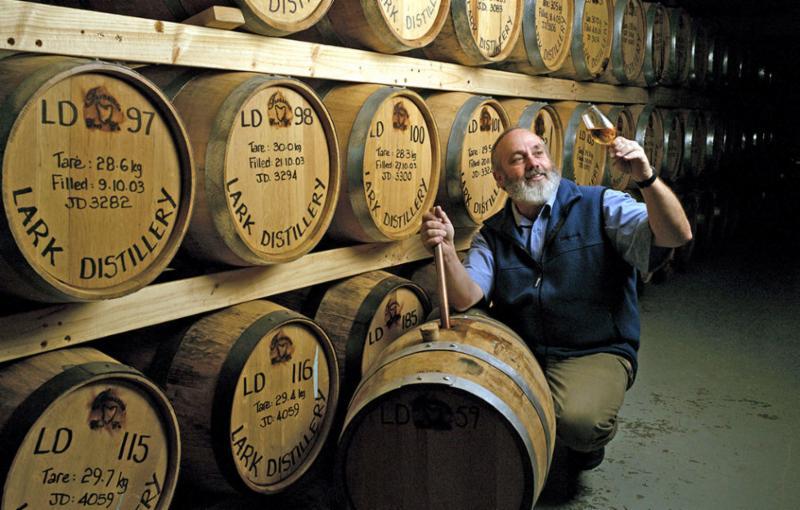 Bill Lark of Lark Distillery