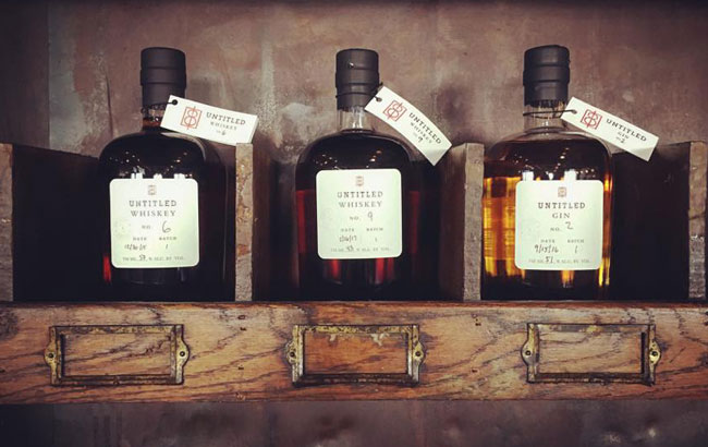 Spirits from One-Eight Distilling