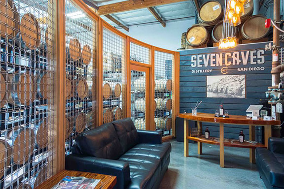 Seven Caves Distillery in San Diego_ CA