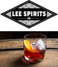 Lee Spirits Co. Negroni cocktail