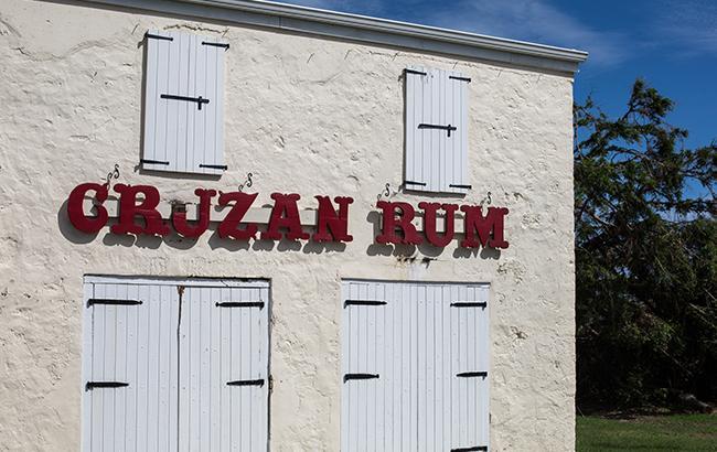 Cruzan Rum bldg exterior
