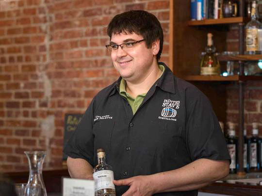 Mike Rasmussen_ co-owner of Painted Stave Distilling in Smyrna_