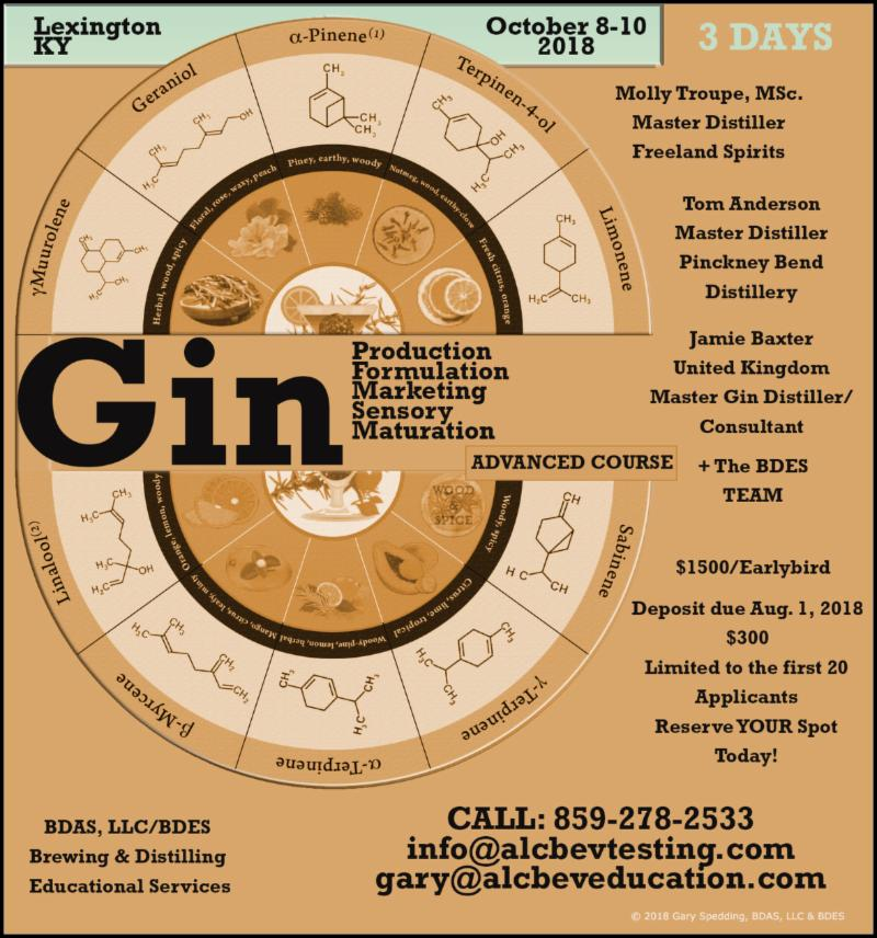 Advanced Gin class poster