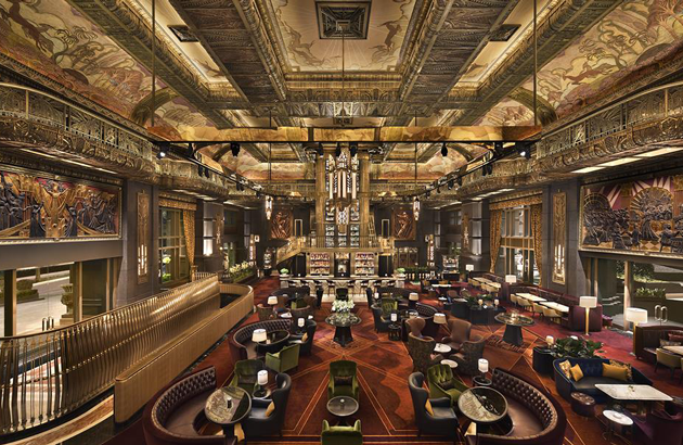 Atlas bar in Singapore gives guests an experience of grandeur
