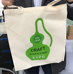 Craft Distilling Expo tote bag from 2017