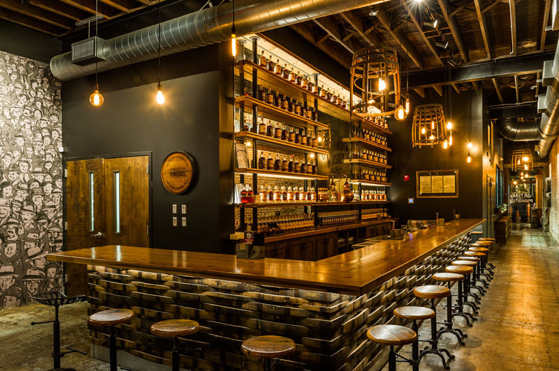 Bar at Chattanooga Whiskey Experimental Distillery