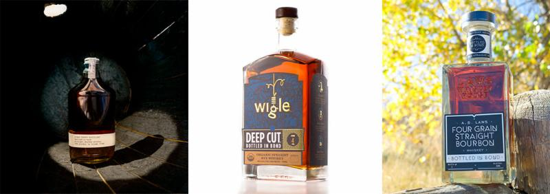 Three of the Bottled-in-bond whiskeys profiled in the story