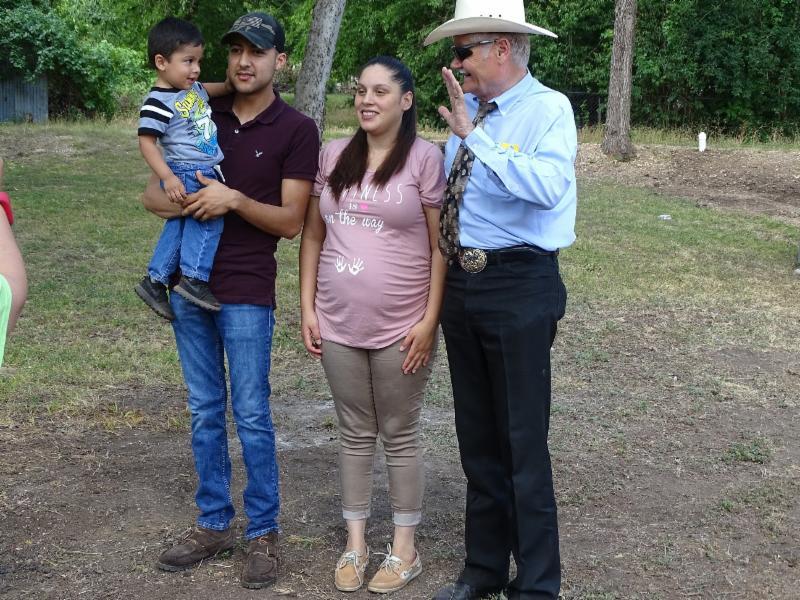 Ziniga family with Doc Anderson