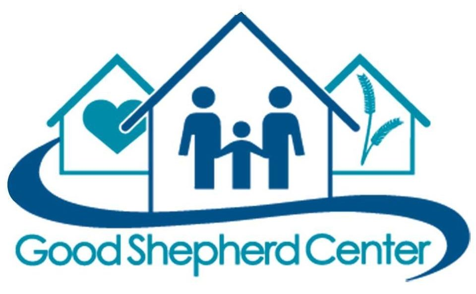 Logo for the Good Shepherd Center, community partner of CFLC.