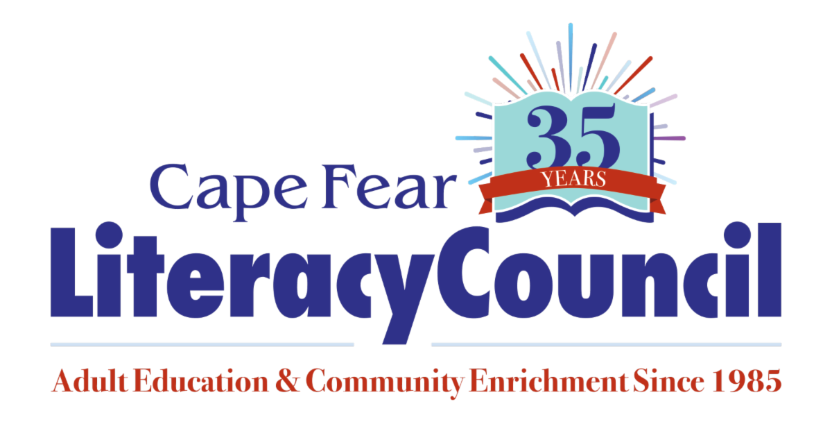 CFLC main logo with tagline; Adult Education and Community Enrichment since 1985. Link goes to website.