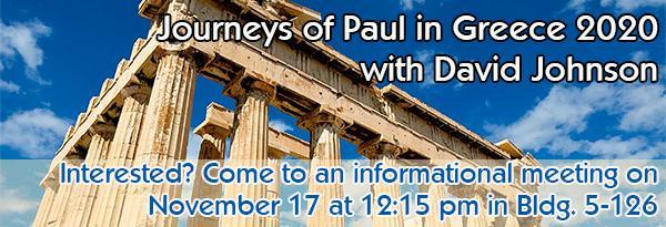 Journeys of Paul