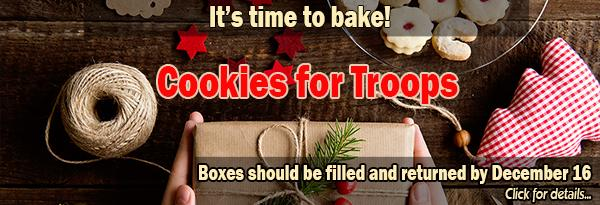 Cookies for Troops