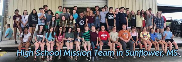 High School Mission Trip
